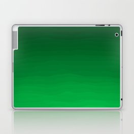 Happy Bright Apple Green Ombre Laptop & iPad Skin