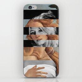 Botticelli's Venus & Brigitte Bardot iPhone Skin