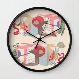 Rain Dance Wall Clock