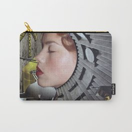 Ground Control  - Vintage Space Astronaut Collage Carry-All Pouch