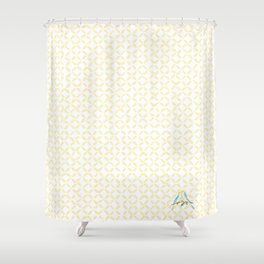 The love birds Shower Curtain
