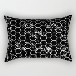 Honeycomb Pattern Rectangular Pillow