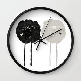 Ying Yang Sheep Wall Clock
