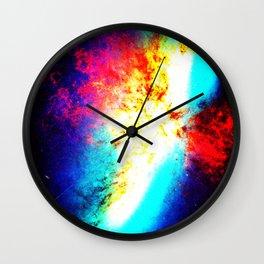 Galaxy : Bright Supernova Wall Clock