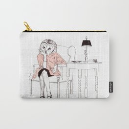 Bestial lonely lady Carry-All Pouch