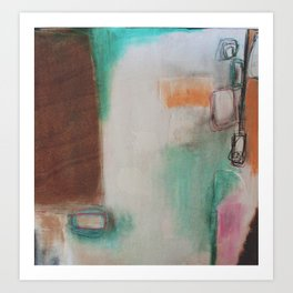 white space.  Art Print
