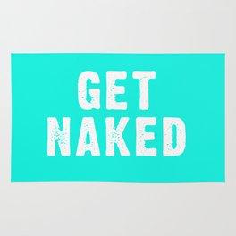 Get Naked - Aqua Rug