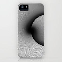 Shady Circles iPhone Case