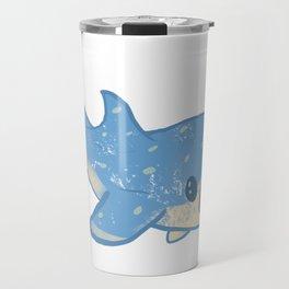 Shocked Little Whale Shark Travel Mug