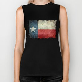 State flag of Texas, Lone Star Flag of the Lone Star State Biker Tank