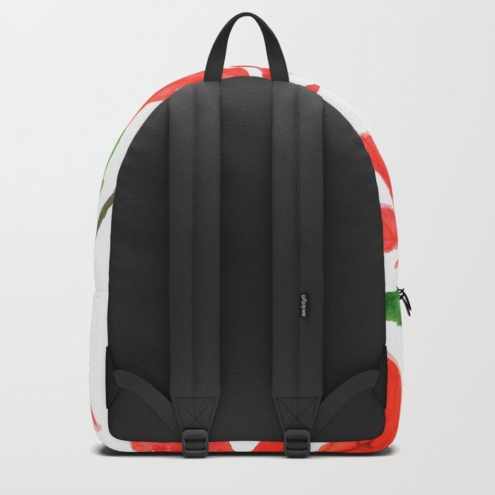 christmas flower Backpack