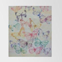 Butterflies II Throw Blanket