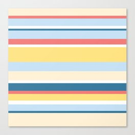 Rushcutters Bay Stripe Canvas Print