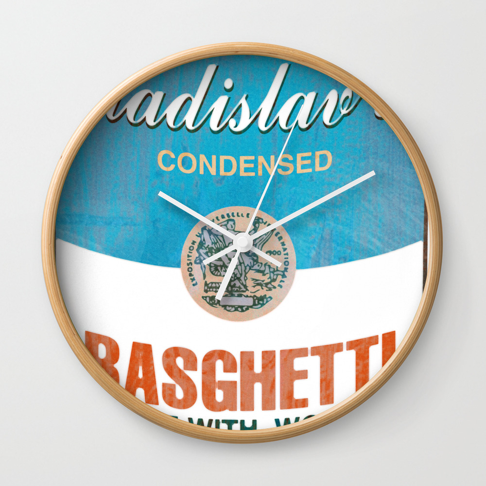What We Do In The Shadows: Do You Like Basghetti? Wall Clock by Madaramason CLK3406757