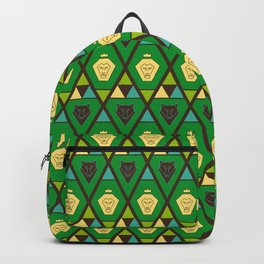 Royal pattern Backpack