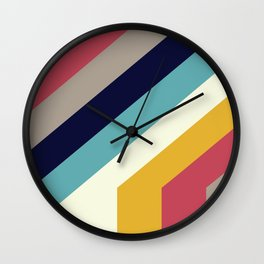Back to 70's Wall Clock