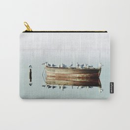 Resting On A Boat Carry-All Pouch