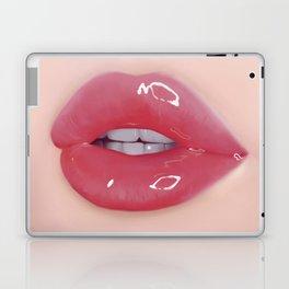 Red Glossy Lips Laptop & iPad Skin