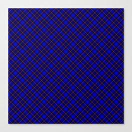 Scottish Fabric Blue High Resolution Canvas Print