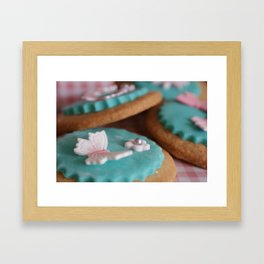 Butterfly Biscuits Framed Art Print