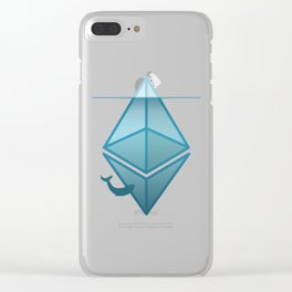 Ethereum | Tip of the Iceberg Clear iPhone Case