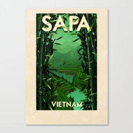 Vietnam - Sapa Canvas Print
