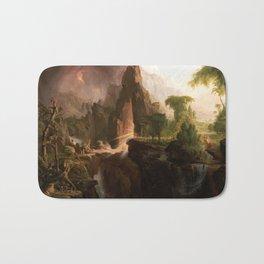 Thomas Cole - Expulsion from the Garden of Eden, 1828 Bath Mat
