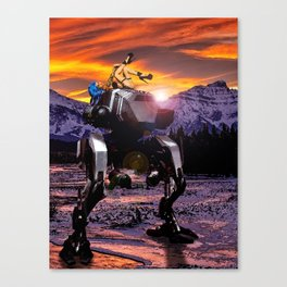 Spring Break on the Ice Planet Hoth Canvas Print