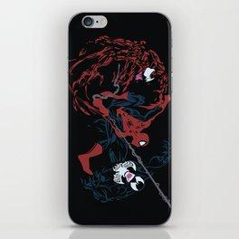 Spider-man - Carnage VS Spidey VS Venom iPhone Skin