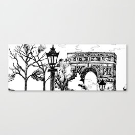 On the way to the Triumph! Canvas Print