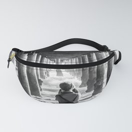 The girl at the pier Fanny Pack