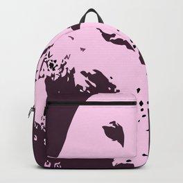 Barn Owl Tyto Alba Purple/Pink Backpack