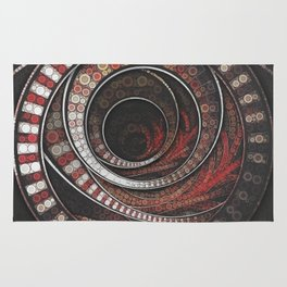 Beautiful Striped Fractal Circles, the Thousand and One Rings of the Circus Rug