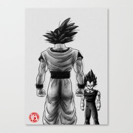 Friends? Canvas Print