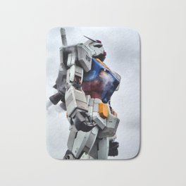 Gundam Pride Bath Mat