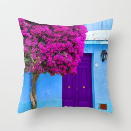 Beautiful Bougainvillea Throw Pillow