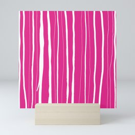Vertical Living Hot Pink Mini Art Print