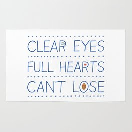 Clear Eyes, Full Hearts, Can't Lose Rug