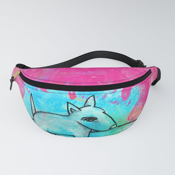 Dog No.1g by Kathy Morton Stanion Fanny Pack