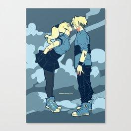x-flavored-kiss-blues Canvas Print