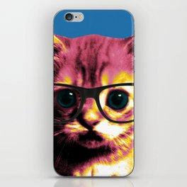 Pop Art Cat iPhone Skin