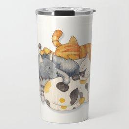 Cat Nap (Siesta Time) Travel Mug