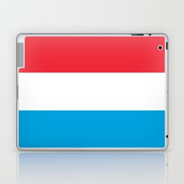 Luxembourg Flag Laptop & iPad Skin