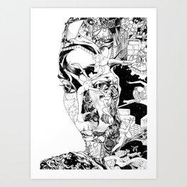 The portrait Art Print