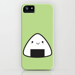 Kawaii Onigiri Rice Ball iPhone Case