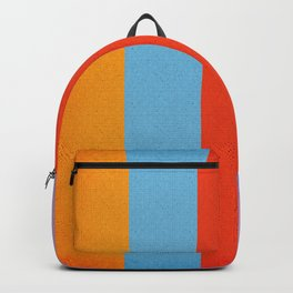 VINTAGE RETRO PATTERN VERTICAL BARS Backpack