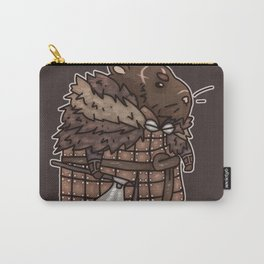 Rollo the Viking Hamster Carry-All Pouch