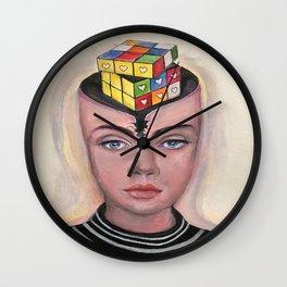 Logic or Heart Wall Clock