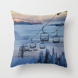 LAST CHAIR Throw Pillow