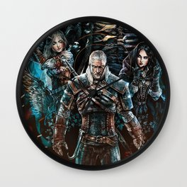 The Witcher Wild Hunt Wall Clock